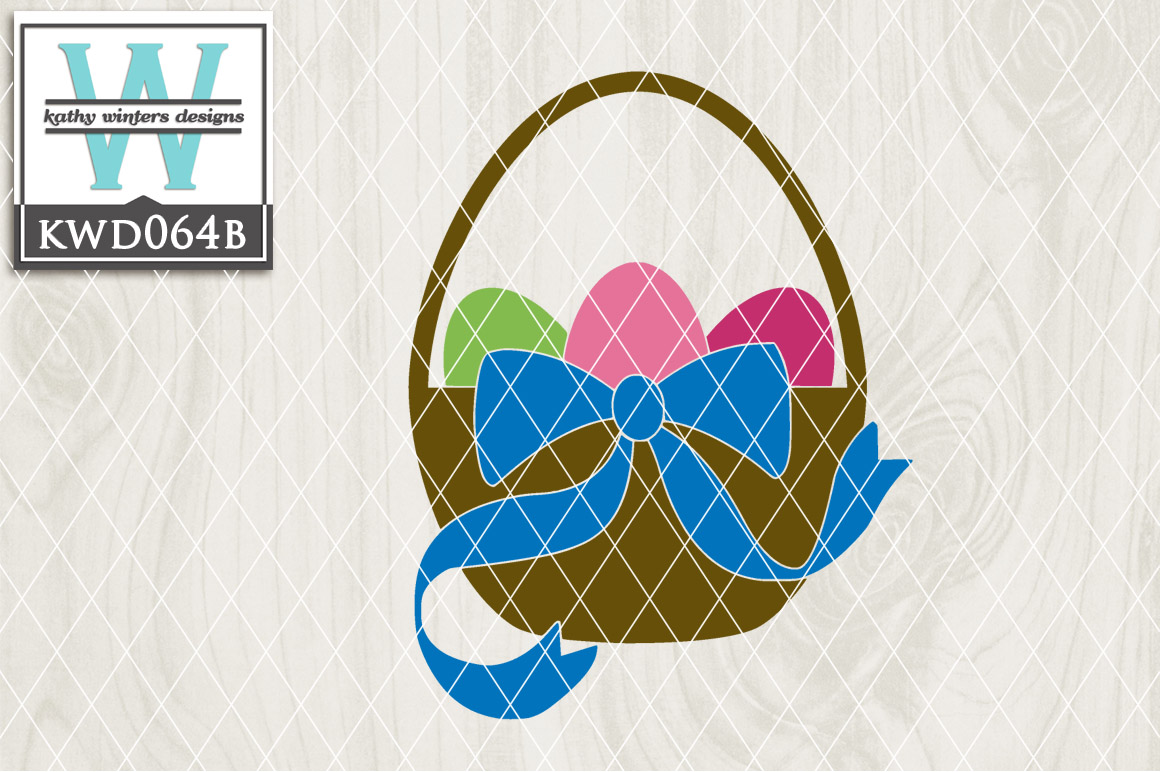Easter Cutting File KWD064B example image 1