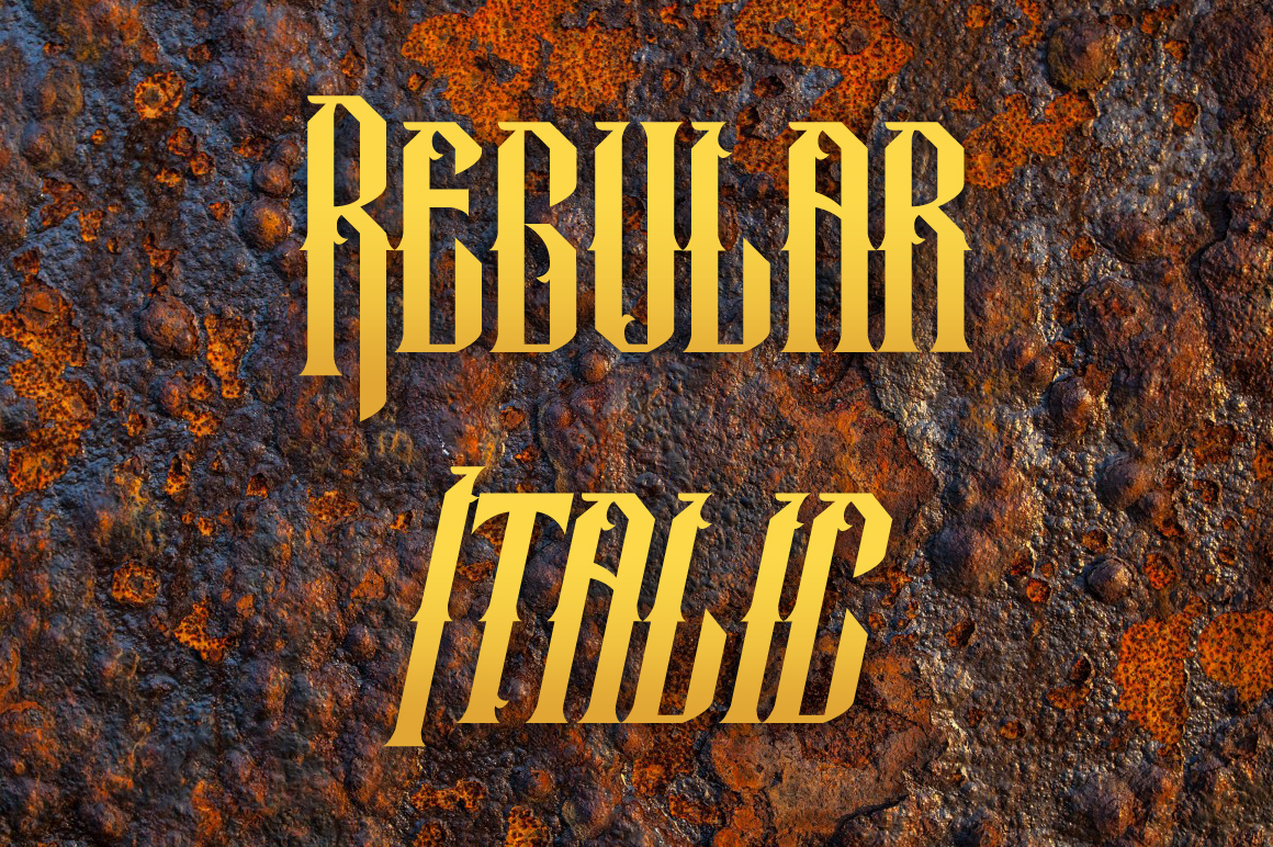Temenyut Typeface example image 2