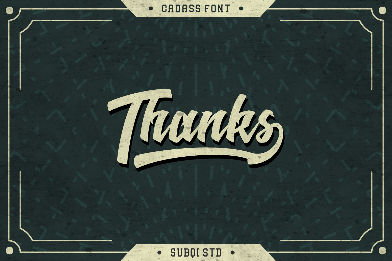 Cadass Font Duo 70% OFF example image 6