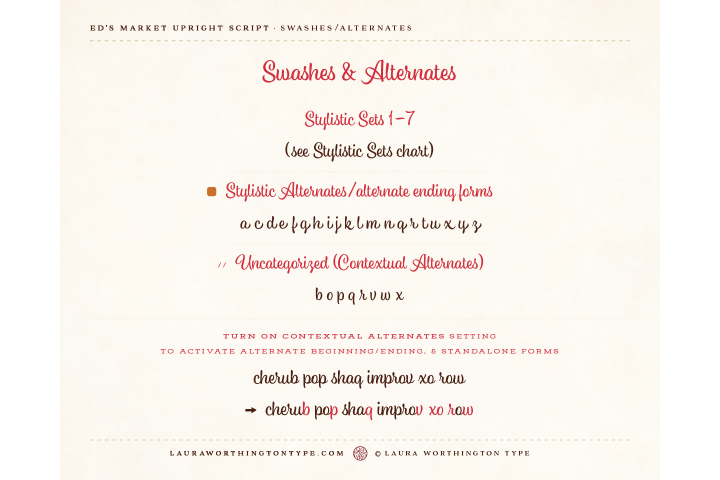 Ed's Market Upright Script example image 6