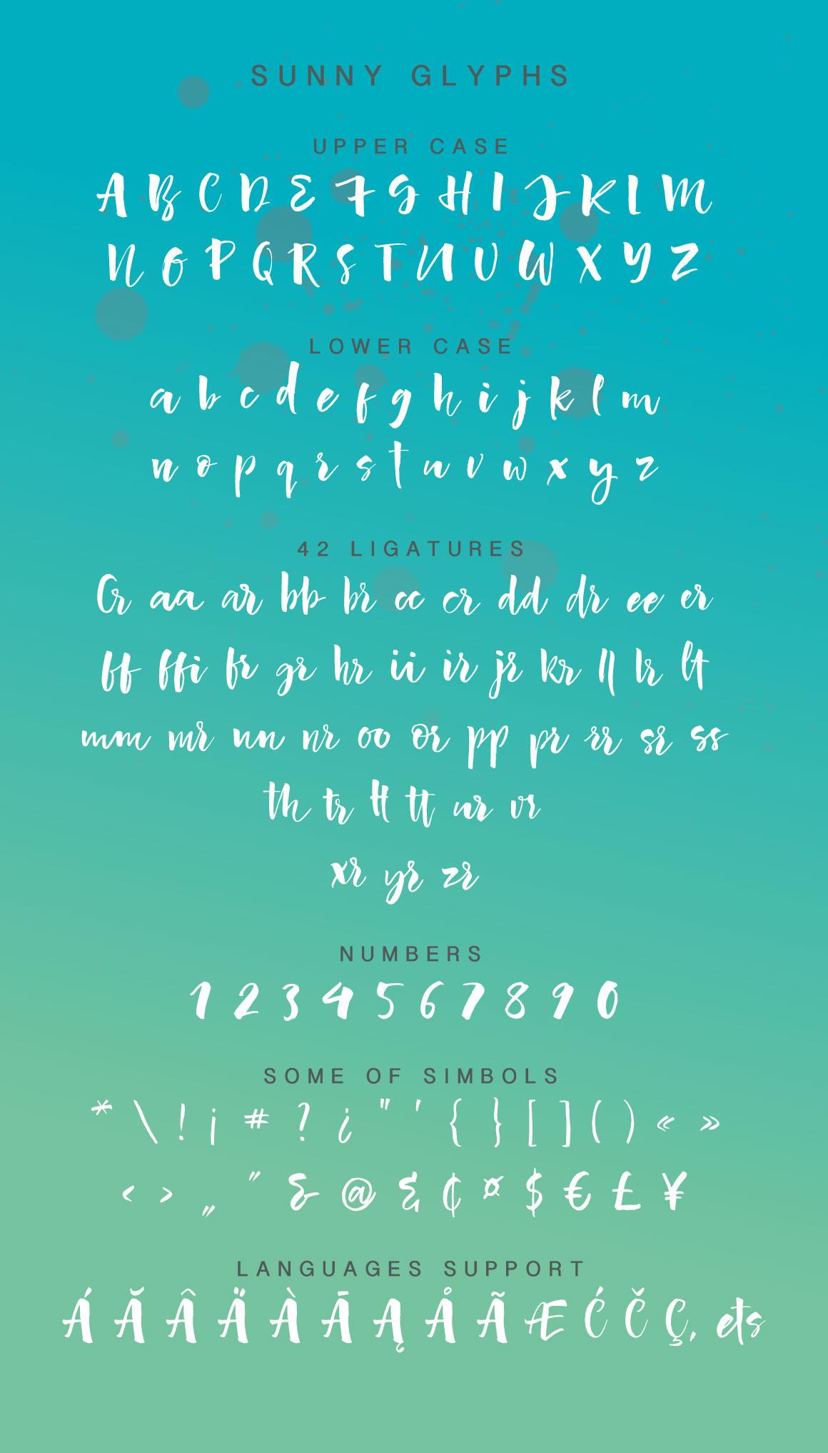 Sunny Script example image 7