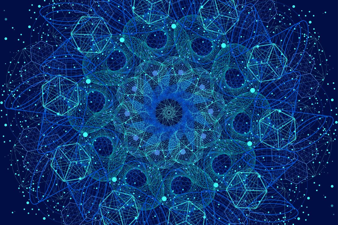{Sacred Geometry} VECTOR MANDALAS example image 13