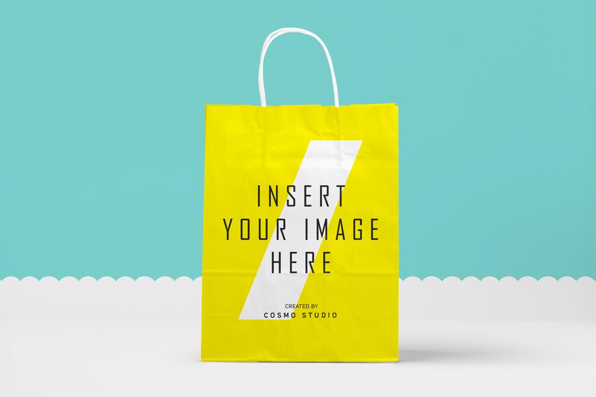 Paper Bags Mockups Vol.2 example image 1
