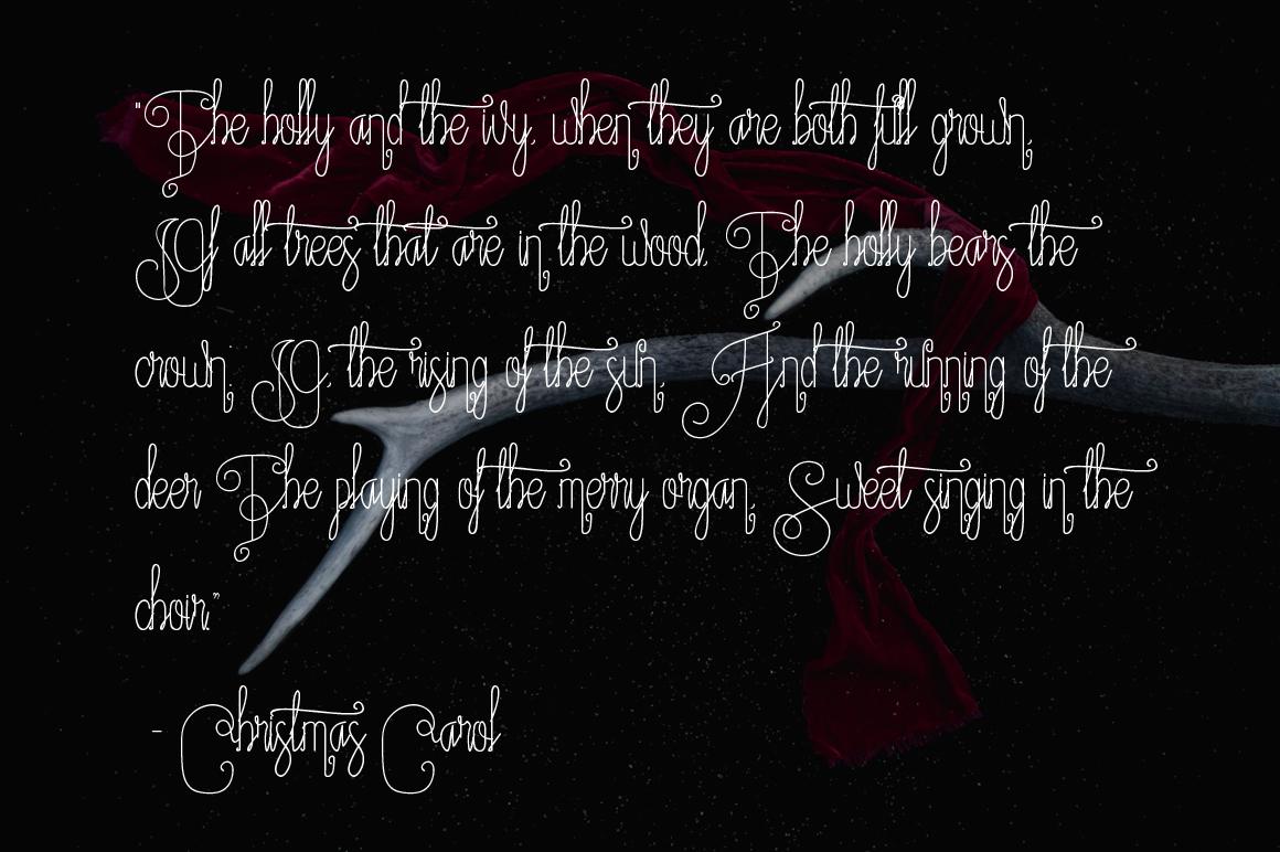 Fantasia Monoline Calligraphy And Bonus example image 5