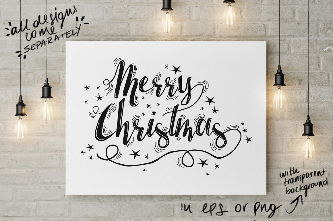 Christmas lights: lettering + more! example image 12