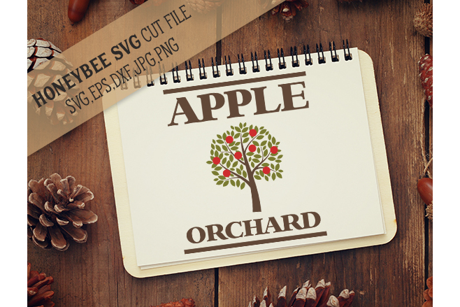 Apple Orchard Country Sign svg example image 1