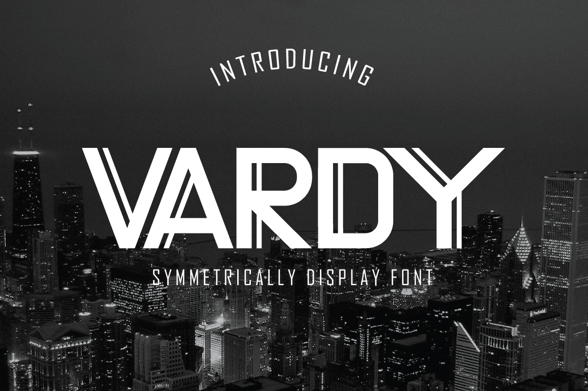 Vardy Display Typeface example image 1