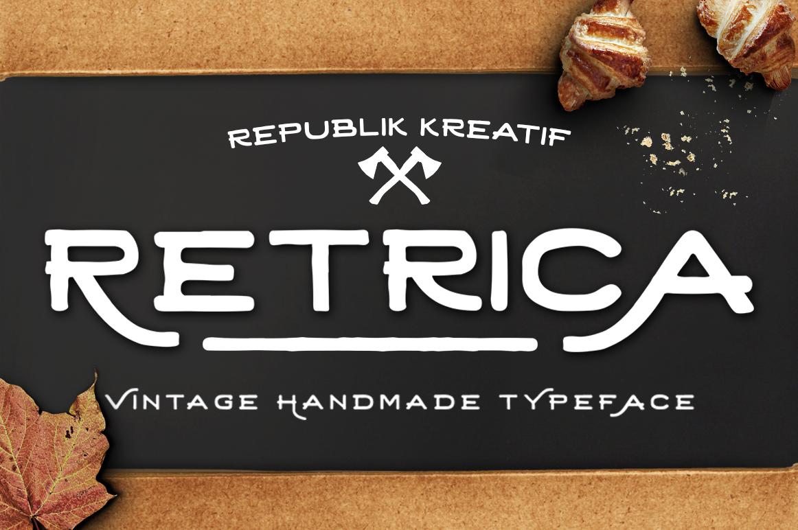 Retrica Typerface example image 1