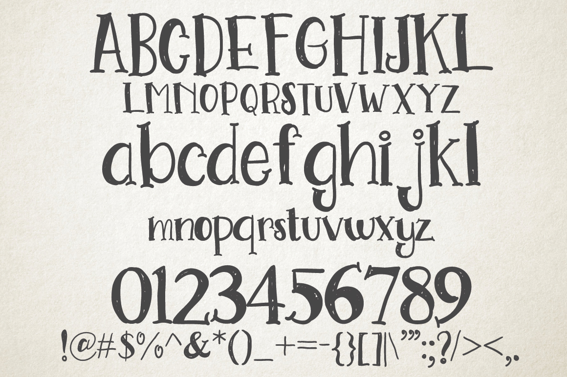 Go Doodling, Scratching Font example image 5