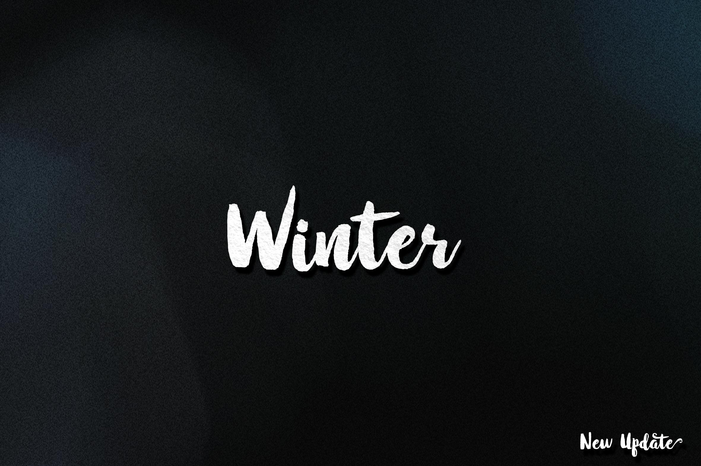 Winter Brush - New Update example image 1