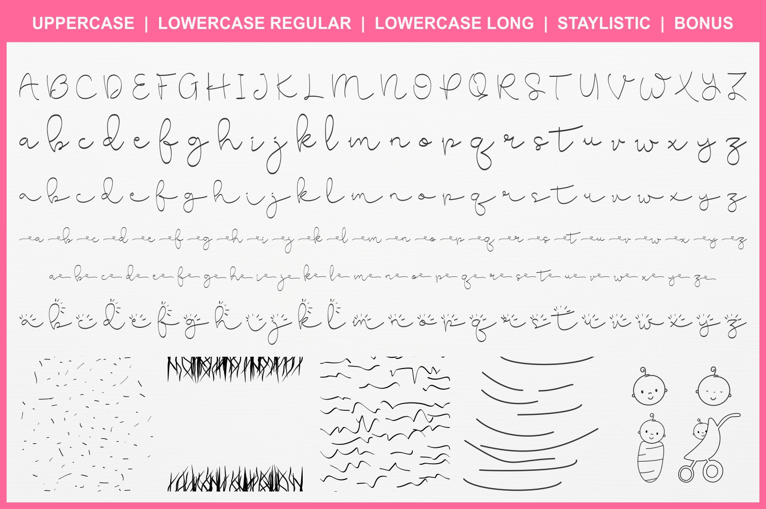 Cute Baby Script example image 2
