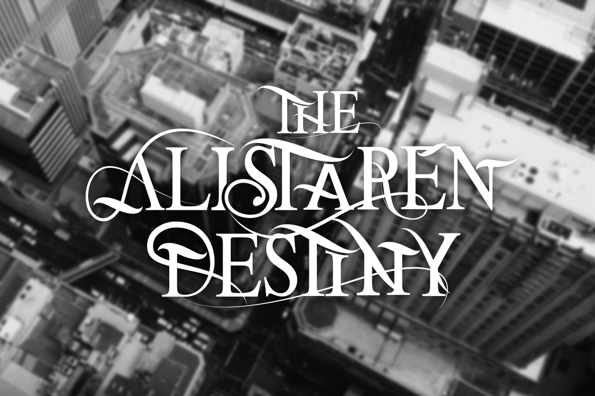 The Alistaren Font example image 2