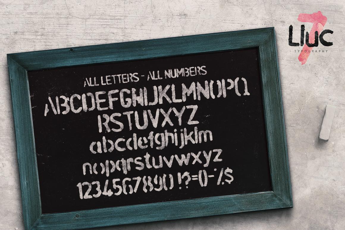 Lluc Script Typeface example image 4