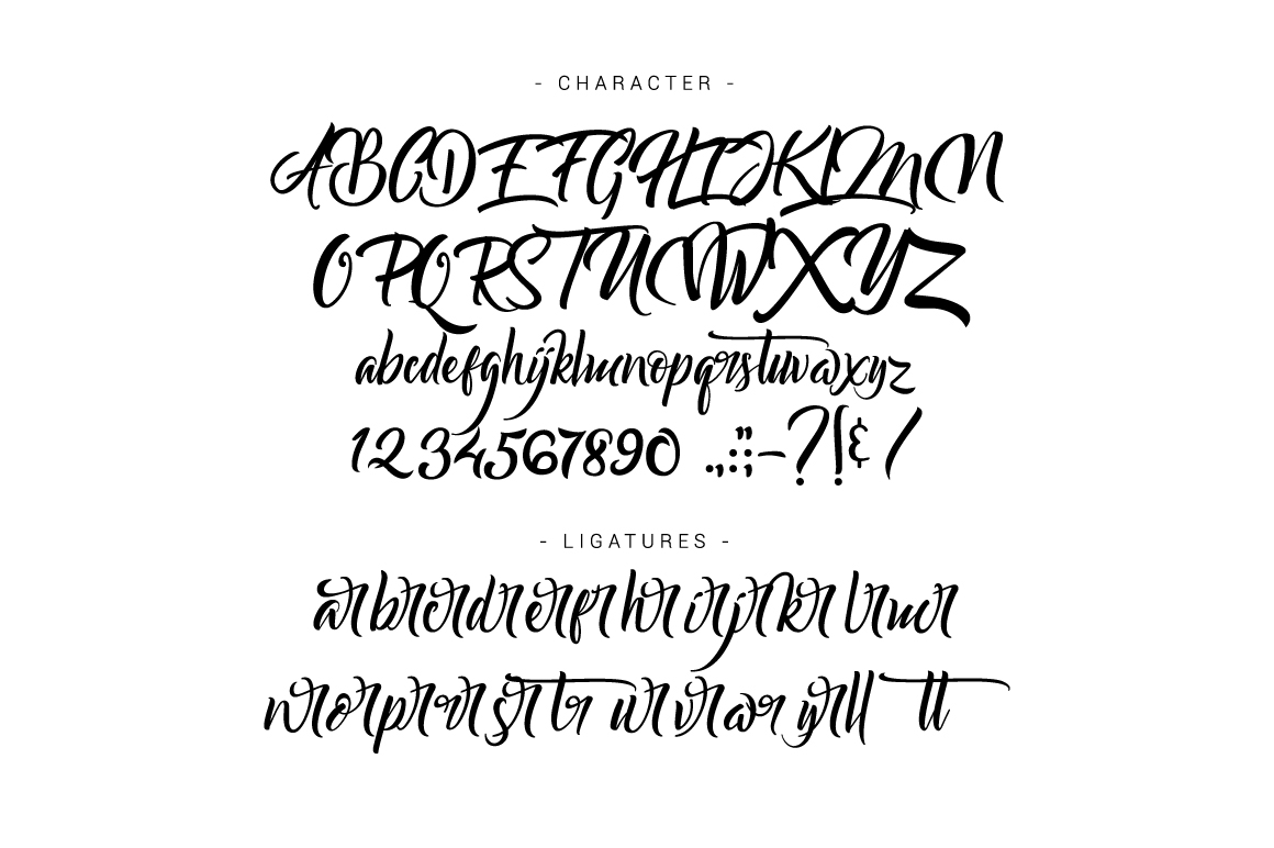 Bareken Typeface example image 5