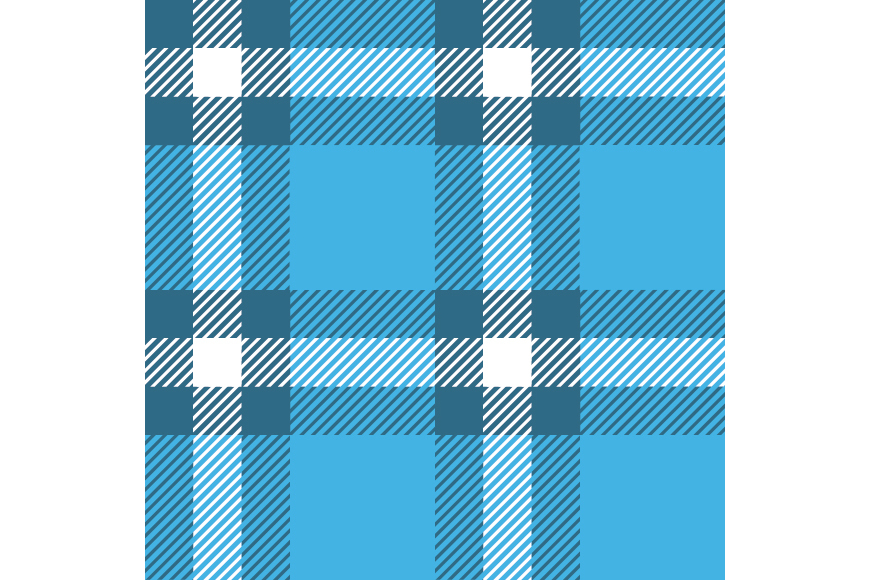 Set of 12 seamless vector tartan backgrounds.  example image 11