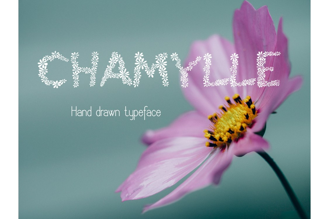 Chamylle font example image 4
