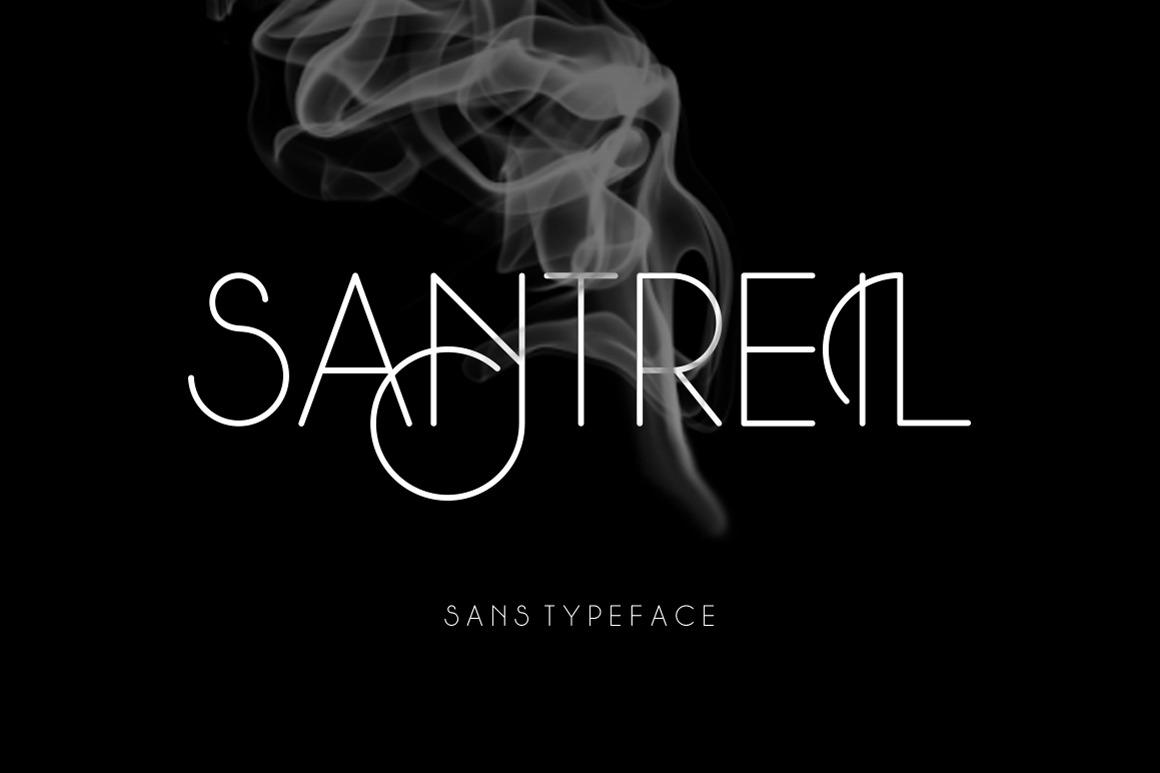 Santreil Sans Typeface example image 1