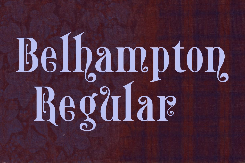 Belhampton Regular example image 6