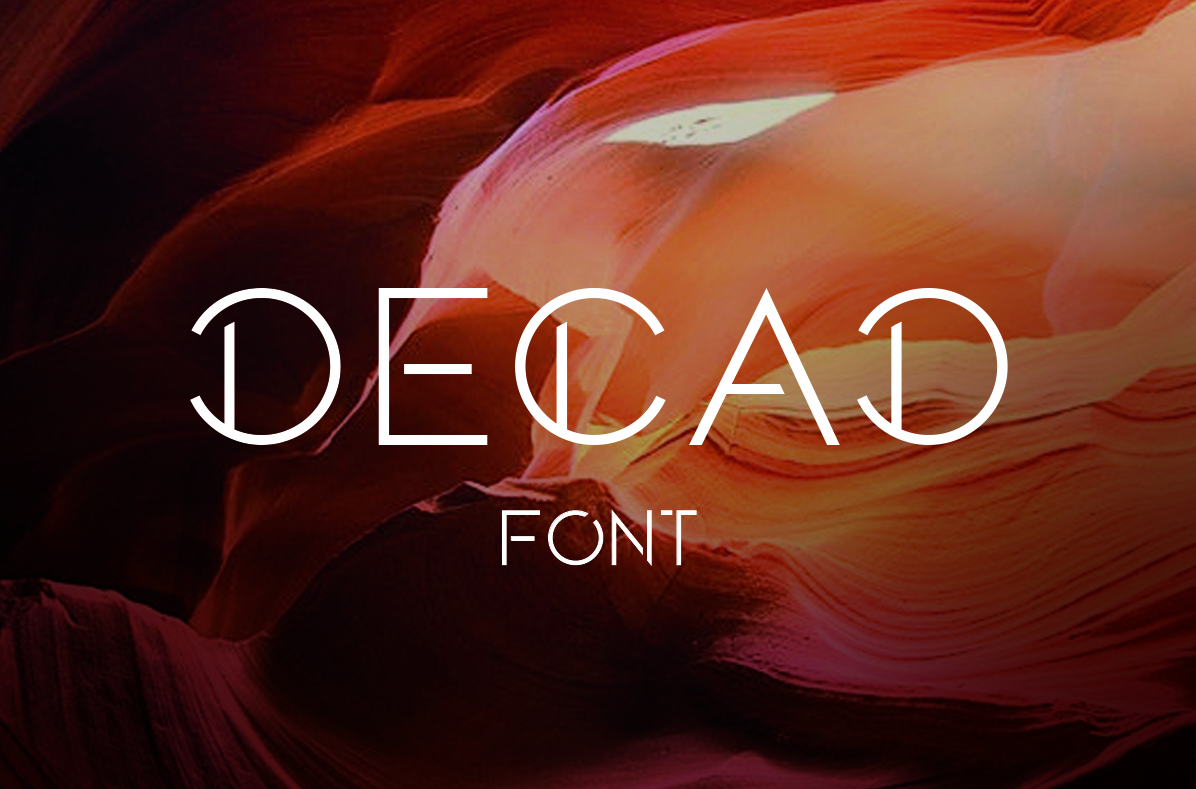 DECAD font example image 3