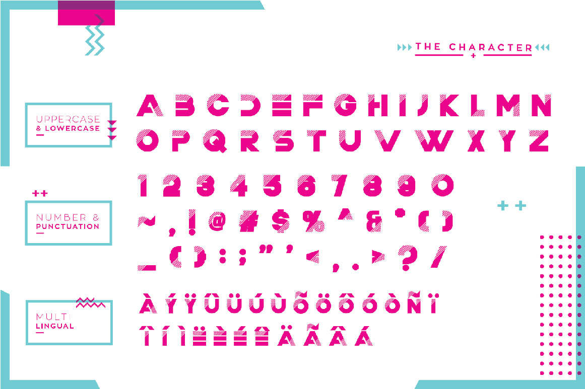 Trixie Layered Multiply Typeface example image 11
