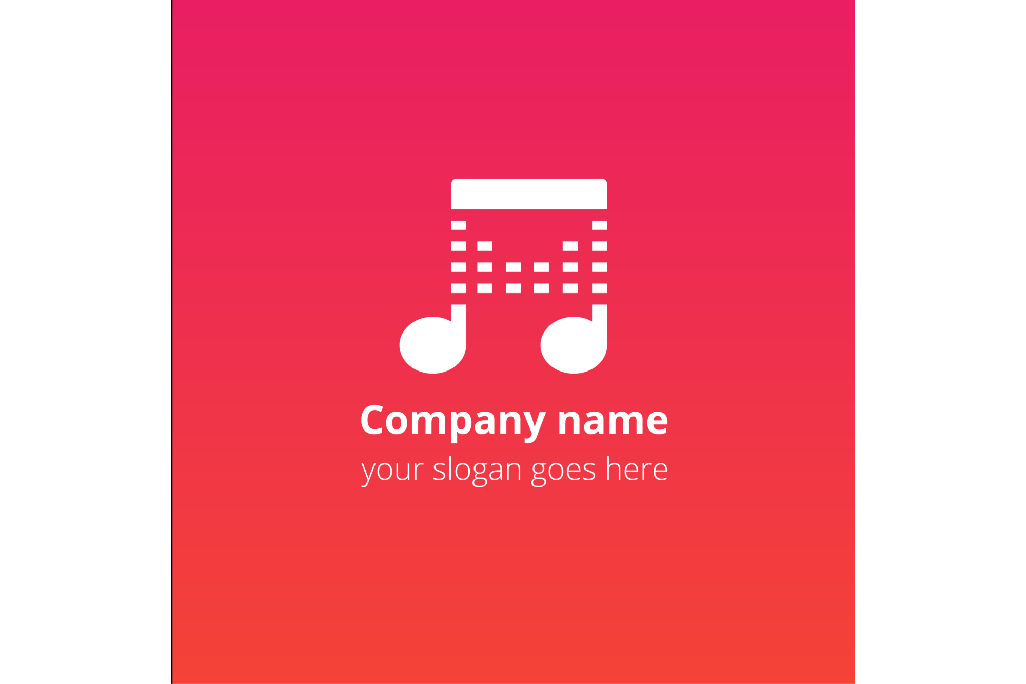 Play beats music logo example image 4
