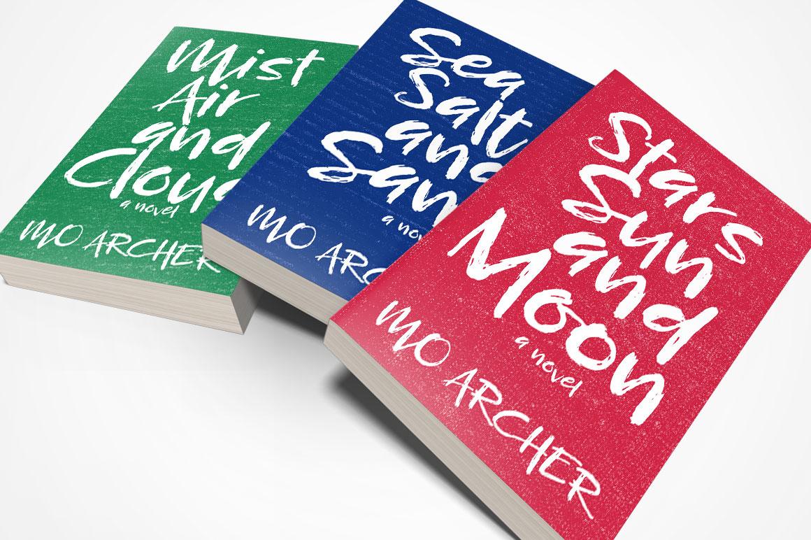 Breezy Beach: novel book cover mockup idea