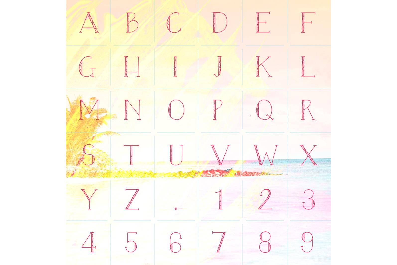 Blaze & Radley Font example image 3