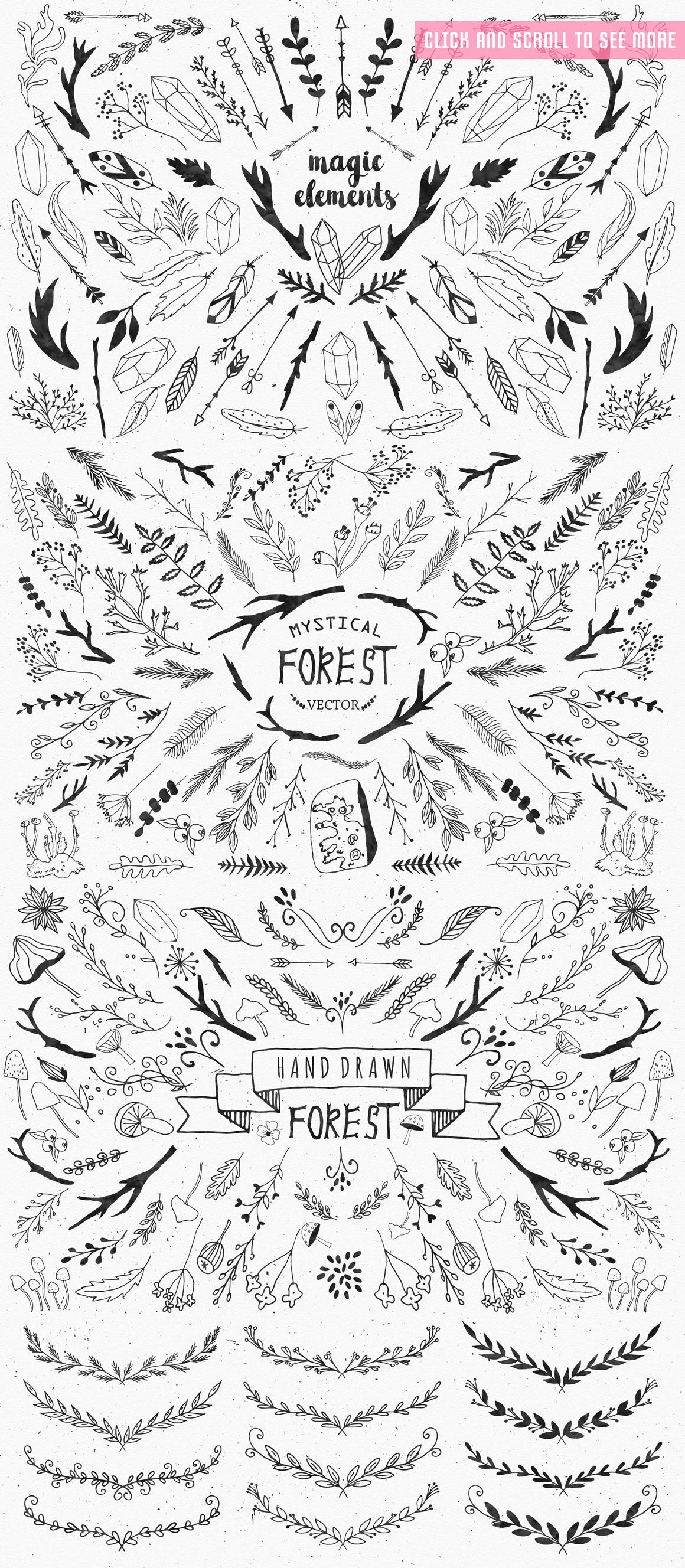 Mystical Forest DIY + Big Bonus example image 7