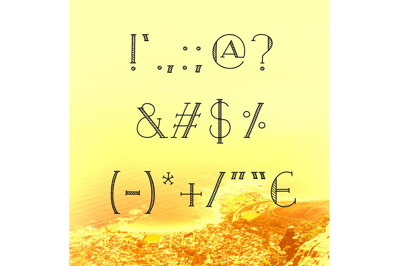 Blaze & Radley Font example image 7