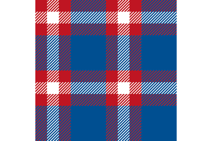 Set of 12 seamless vector tartan backgrounds.  example image 14