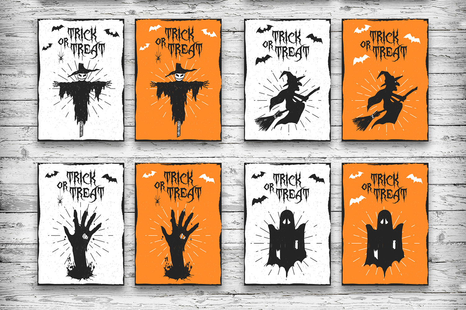 Halloween. 20 Greeting Cards example image 6