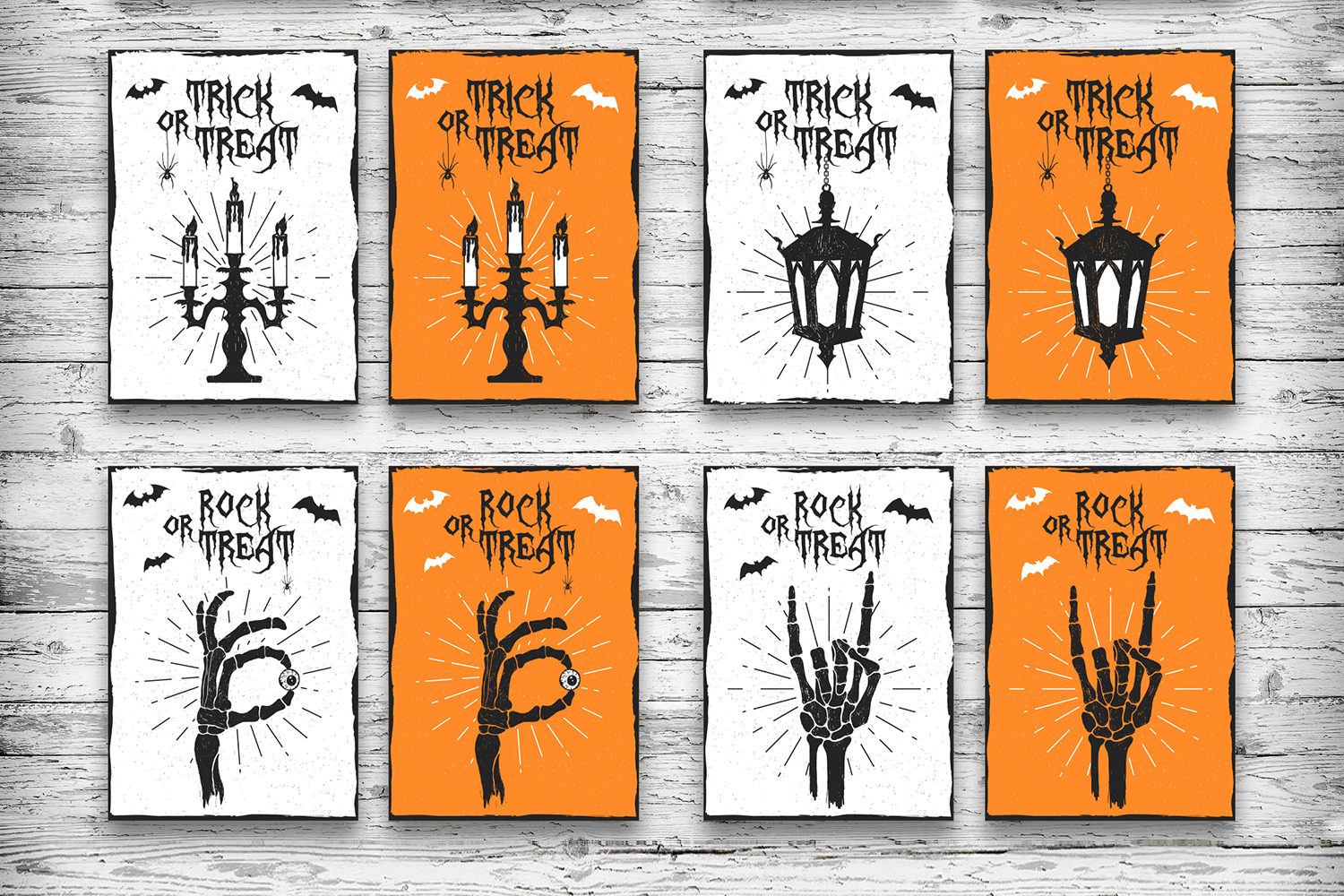 Halloween. 20 Greeting Cards example image 5