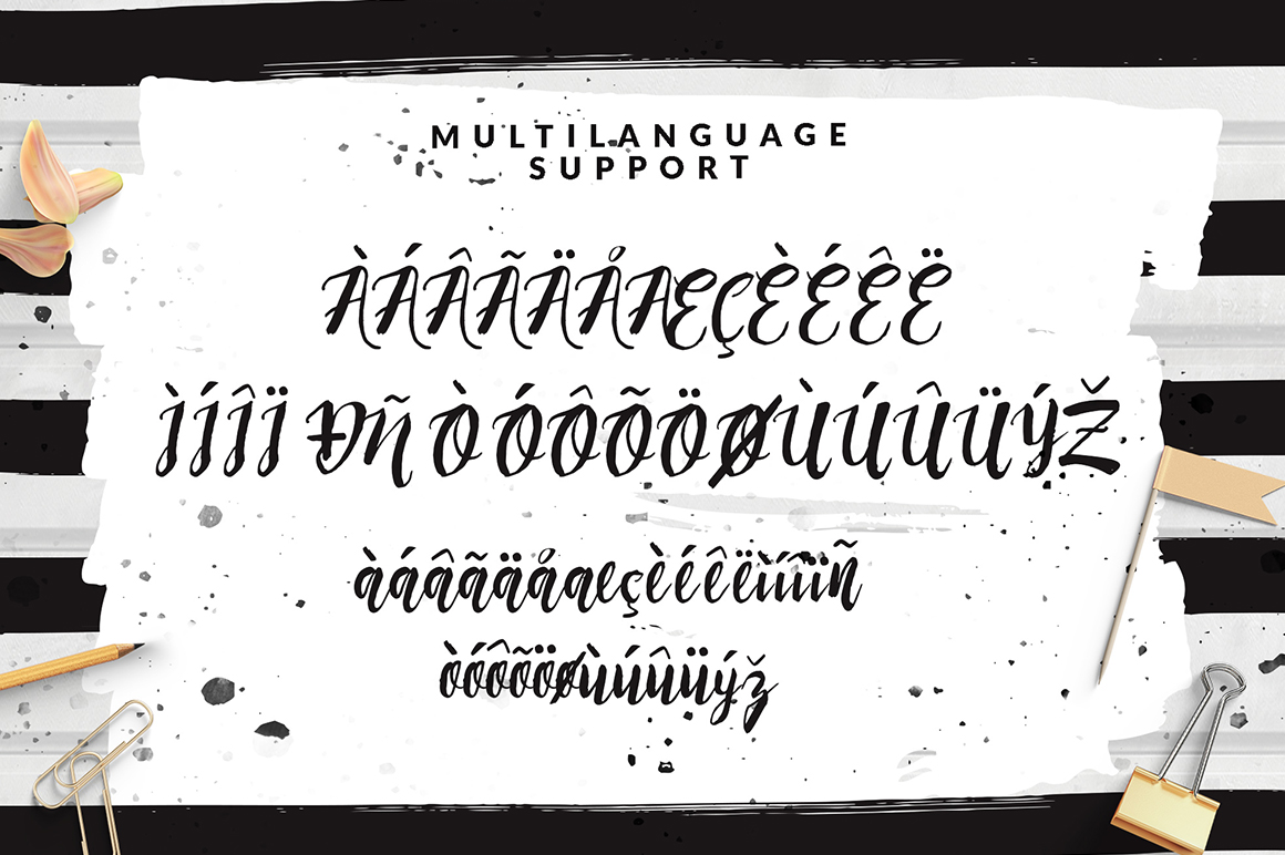 Rising Brush Script example image 8