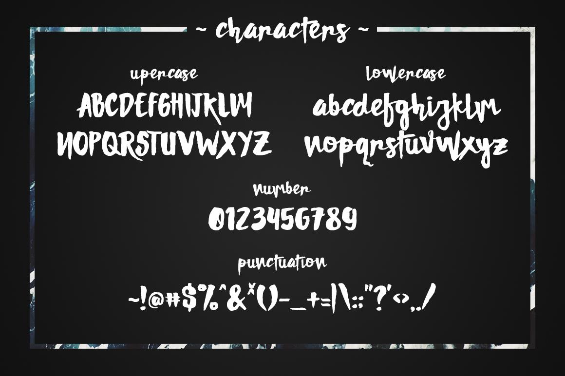 DAMNRIGHT Typeface example image 5