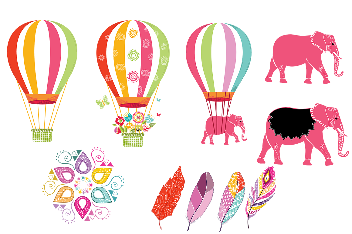 Playful Summer Colorful Bohemian example image 18