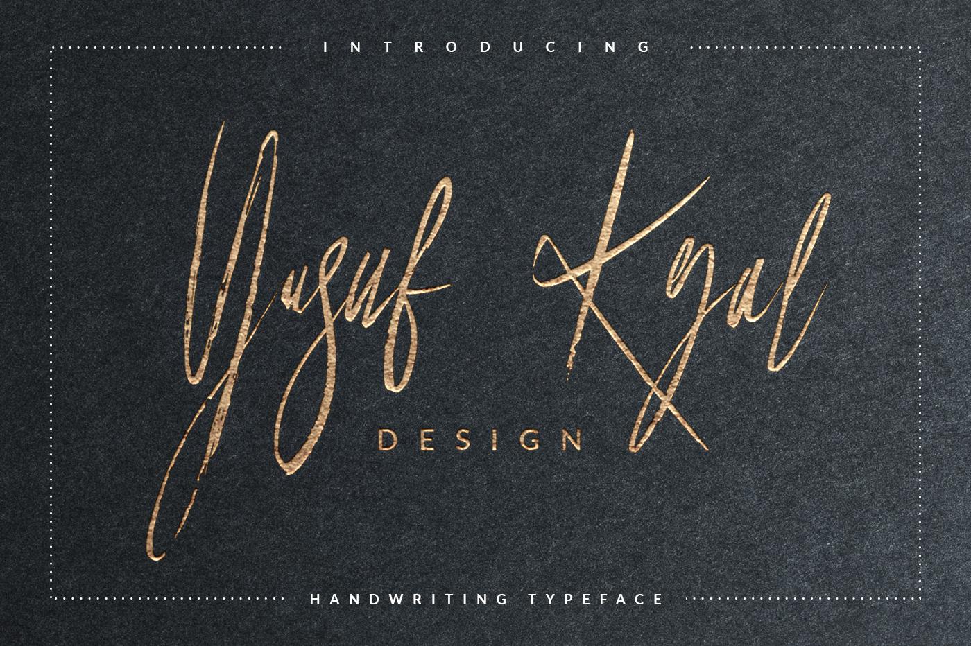 Yusuf Kral Art Font example image 1