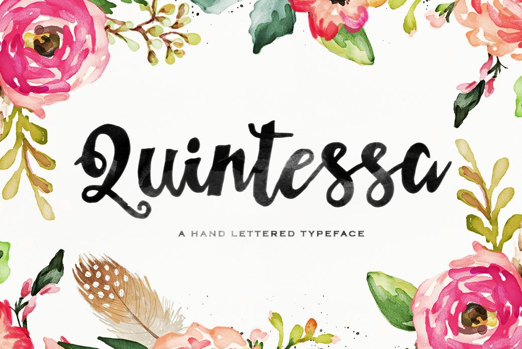 Quintessa Typeface example image 1