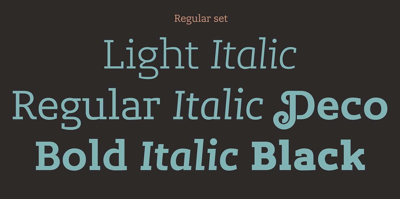 Lev Serif example image 7
