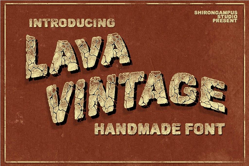 Lava Vintage Handmade