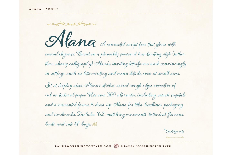 Alana Regular example image 4