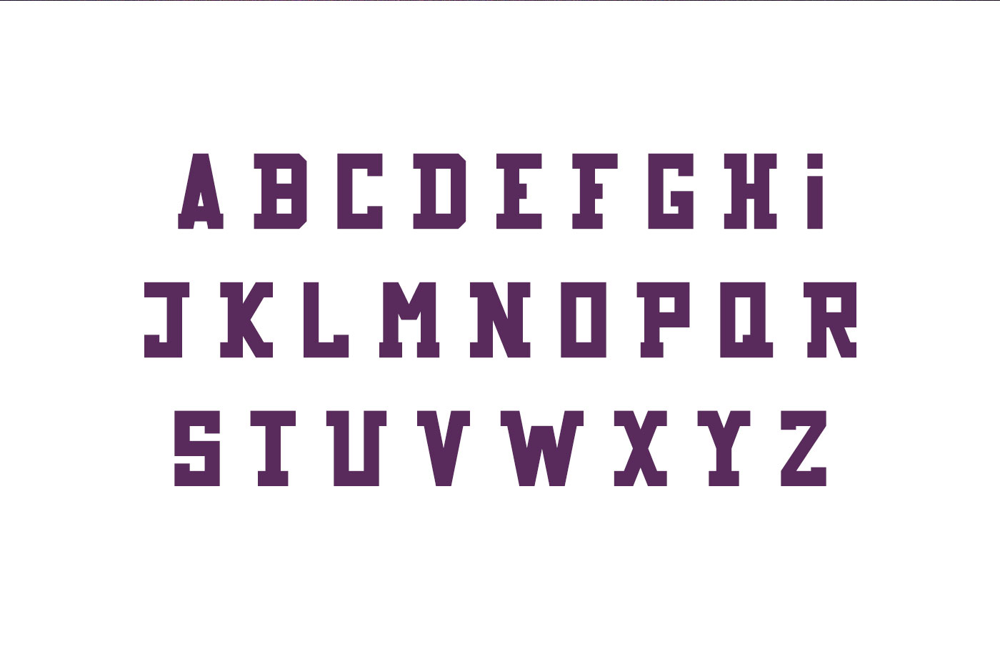 Game Over typeface example image 2