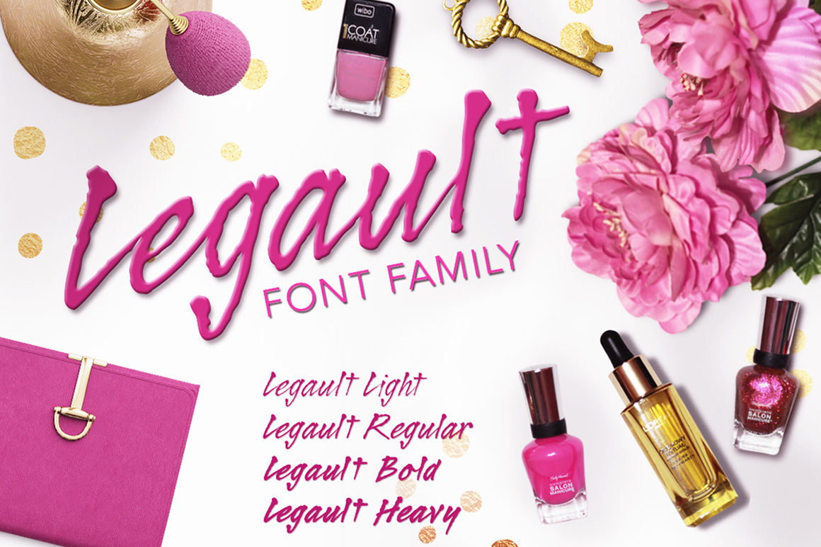 Legault Font Family example image 2