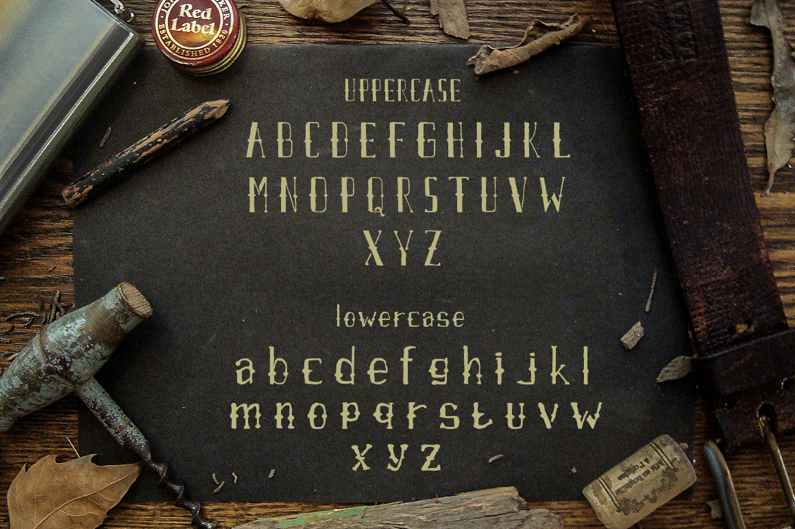 Airpena Rustic Font example image 2