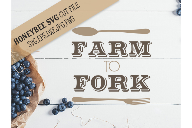 Farm to Fork svg example image 1