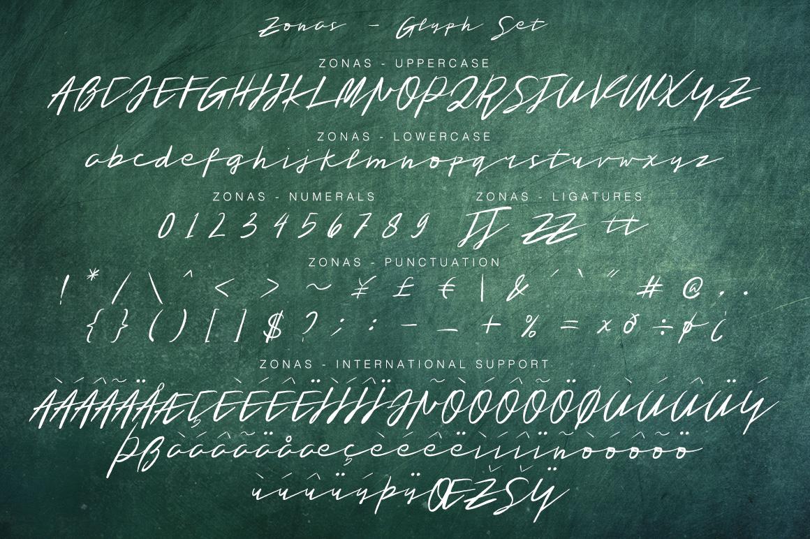 Tristan Brush Font + Bonus example image 11