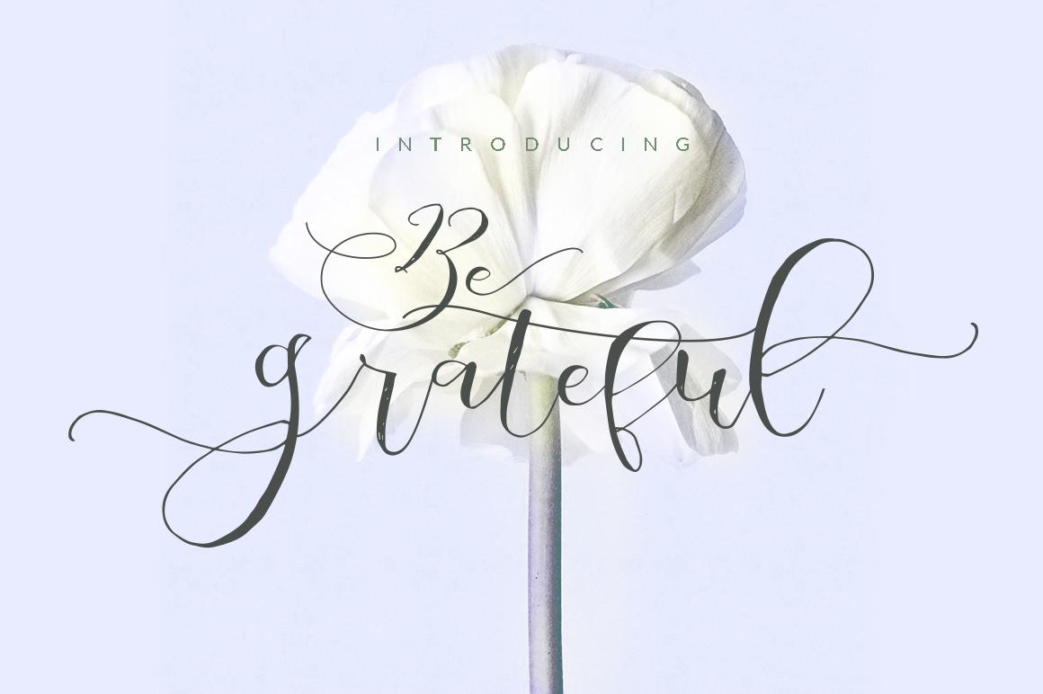 Be Grateful Script example image 1
