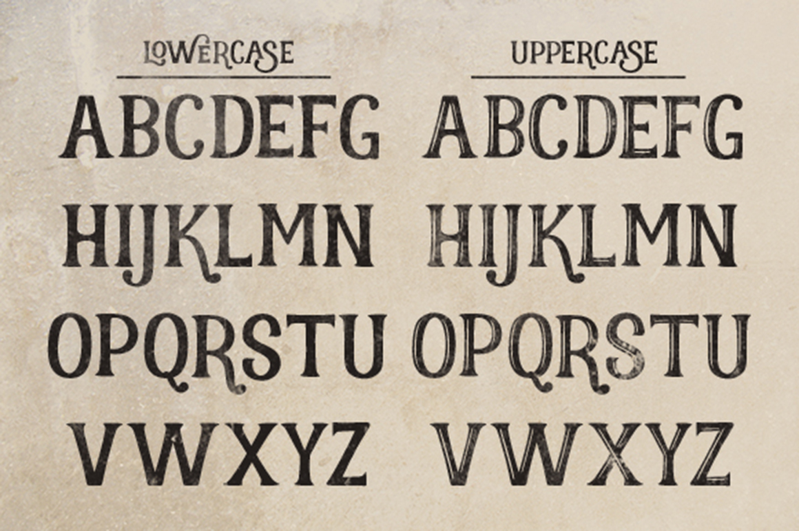 Realist typeface example image 2