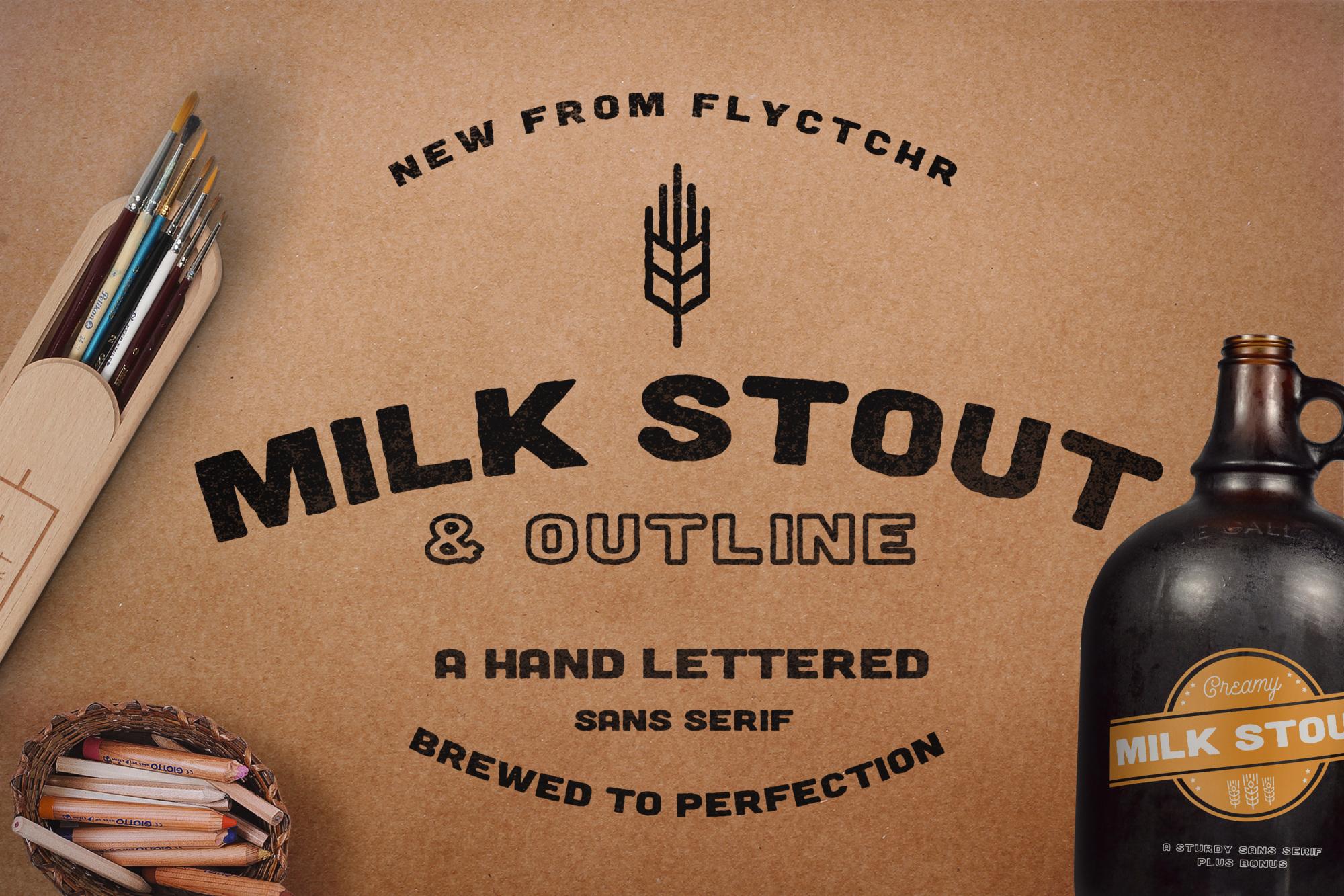 Milk Stout Cover