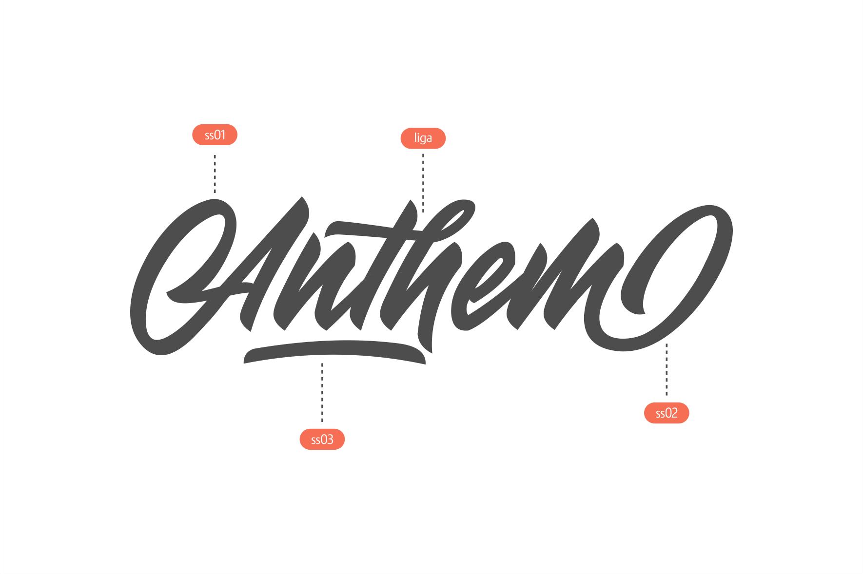 Anthem Typeface example image 3