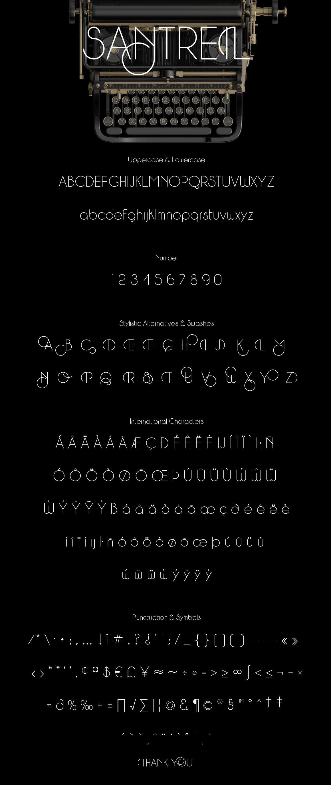 Santreil Sans Typeface example image 2